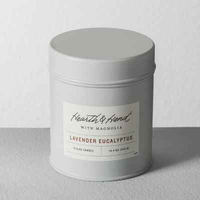 Tin Candle Lavender Eucalyptus - Hearth & Hand™ with Magnolia