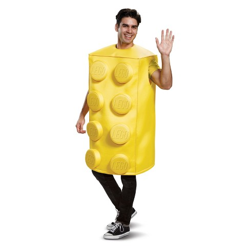 a18f6a9281 Adult LEGO Yellow Brick Halloween Costume   Target
