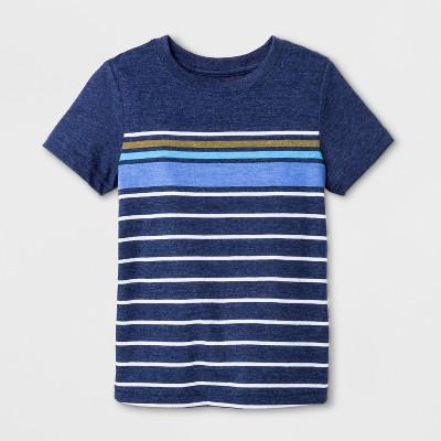 Toddler Boys' Short Sleeve T-Shirt - Cat & Jack™ Navy 4T
