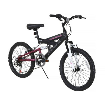 "Dynacraft Air Zone 20"" Aftershock Kids' Mountain Bike - Black/Pink"