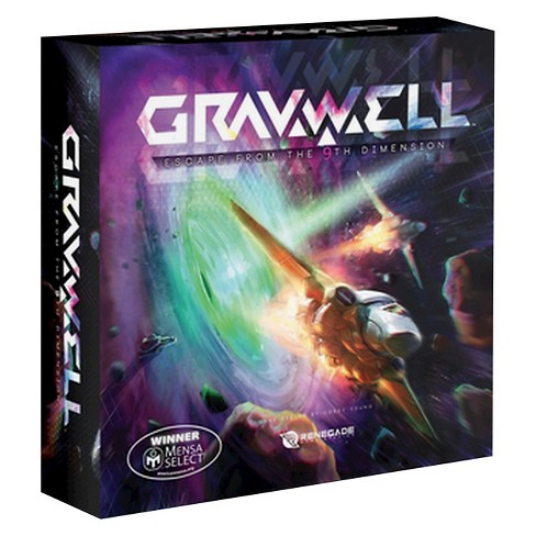 Gravwell Escape From The 9th Dimension Board Game - image 1 of 2