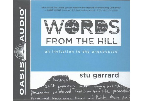 Words from the Hill : An Invitation to the Unexpected, Includes PDF on Final Disc - Unabridged - image 1 of 1