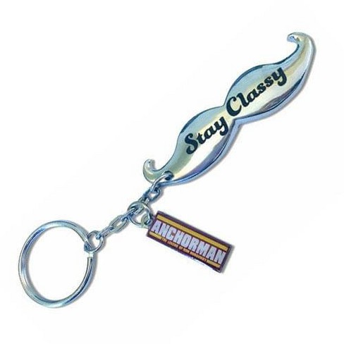 Se7en20 Anchorman Moustache Bottle Opener Key Chain - image 1 of 1