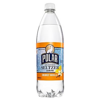 Polar Orange Vanilla Seltzer - 1 L Bottle