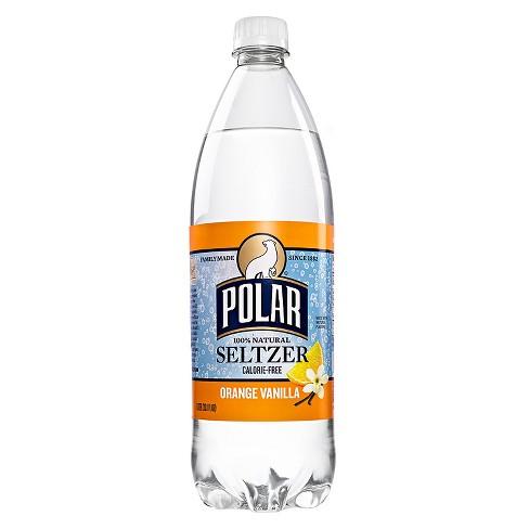 Polar Orange Vanilla Seltzer - 1 L Bottle - image 1 of 1