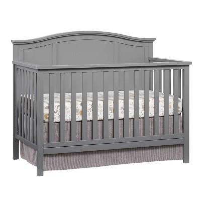 Oxford Baby Emerson 4-in-1 Convertible Crib - Gray