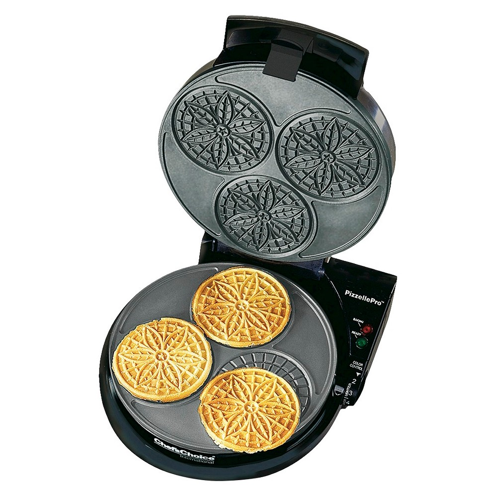 Chefs Choice Pizzelle Express Maker- Black