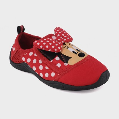 Toddler Girls' Disney Minnie Mouse Water Shoes - Red S