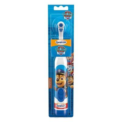 Spinbrush Paw Patrol Kids Electric Battery Toothbrush - 1ct