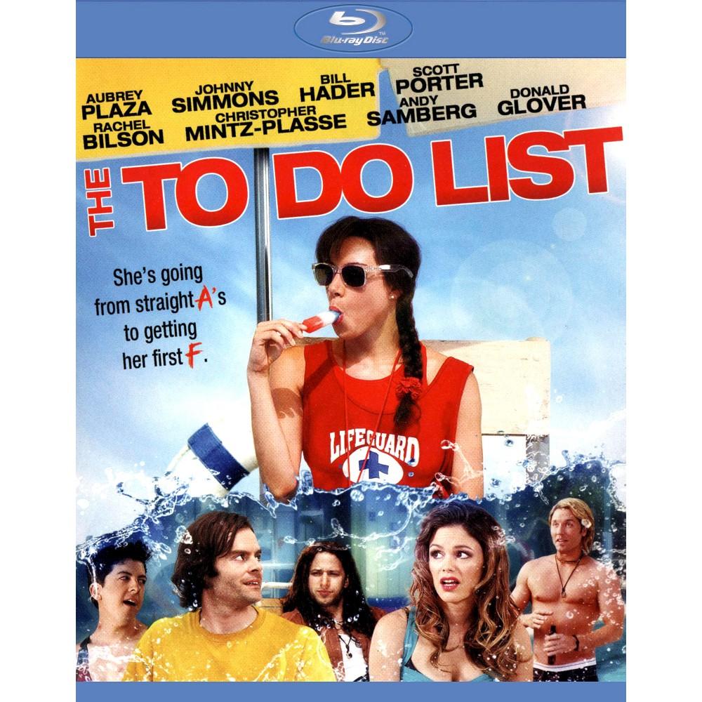 To Do List (Blu-ray), Movies