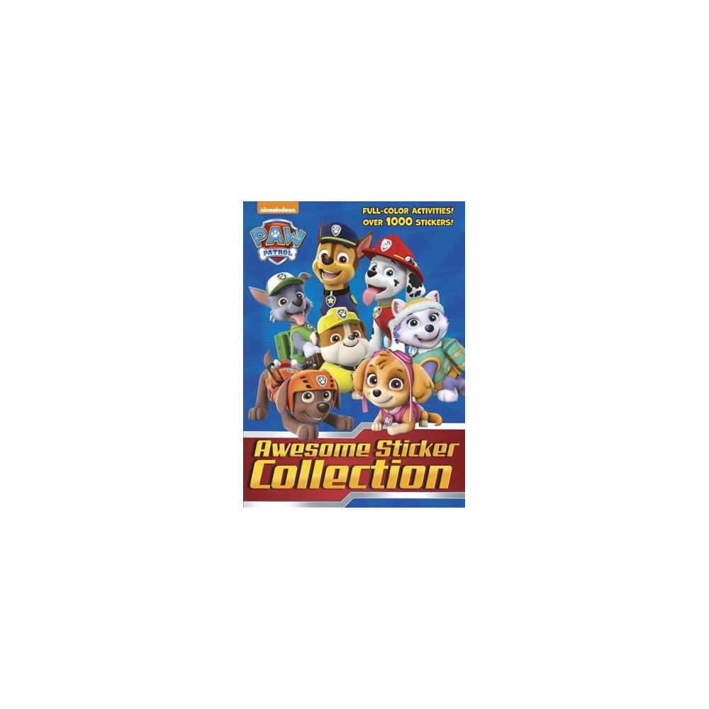 Paw Patrol Awesome Sticker Collection - (Paw Patrol) (Paperback)