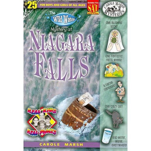 The Wild Water Mystery of Niagra Falls - (Real Kids! Real Places! (Paperback)) by  Carole Marsh - image 1 of 1