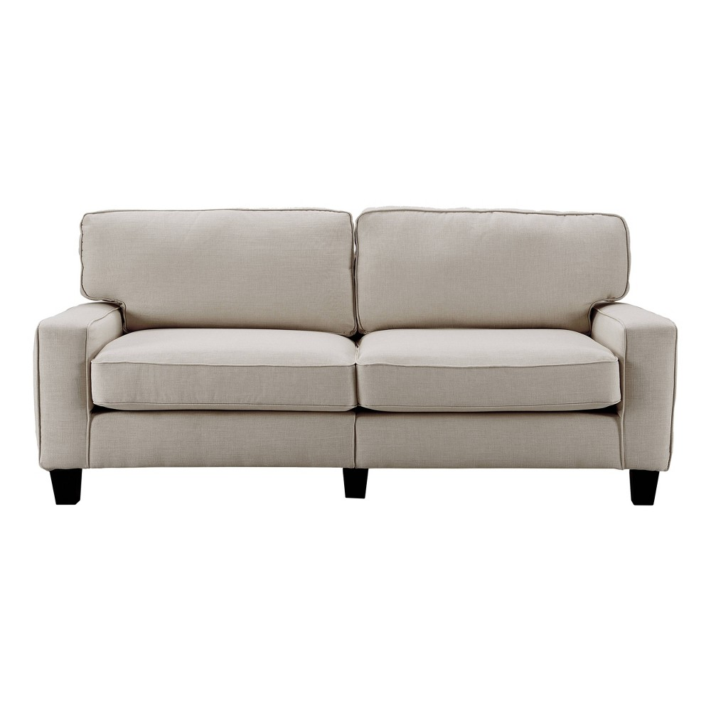 "Image of ""78"""" Palisades Sofa Light Gray - Serta"""