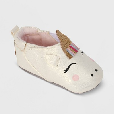 Ro+Me by Robeez Baby Girls' Unicorn Crib Shoes - 0-6M