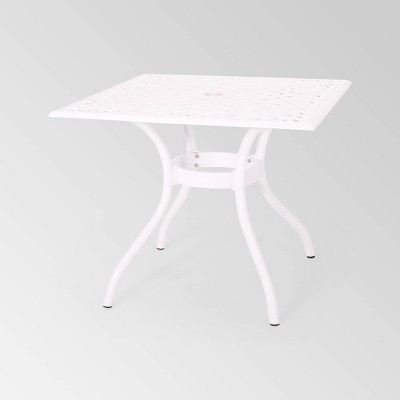 Phoenix Square Cast Aluminum Table - Christopher Knight Home