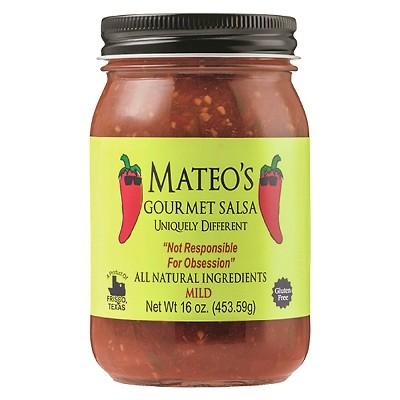 Mateo's Gourmet Mild Salsa 16oz