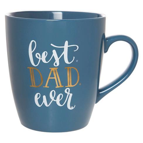 clay art jumbo mug 27oz porcelain best dad ever target