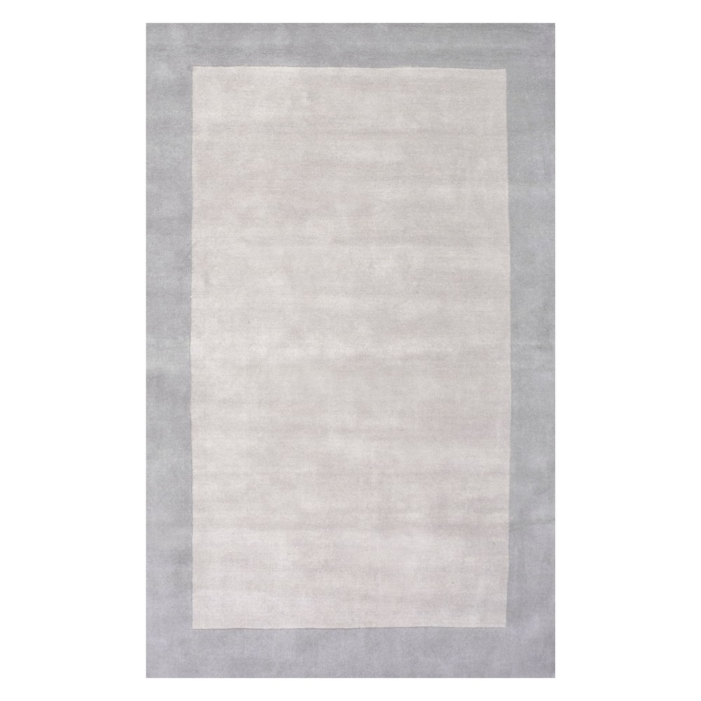 2 39 6 34 X8 39 Runner Hand Tufted Paine Rug Gray Nuloom