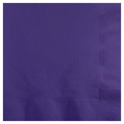 50ct Purple Disposable Napkins