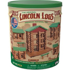Lincoln Logs Collector's Edition Village Building Set
