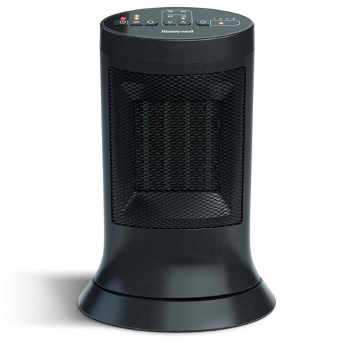 Digital Ceramic Compact Tower Black - Honeywell - image 1 of 4
