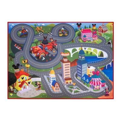 "Mickey & Minnie 40""x54"" Game Rug"