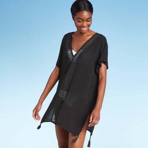 Women's Crochet Insert Cover Up Dress - Kona Sol™ - image 1 of 4