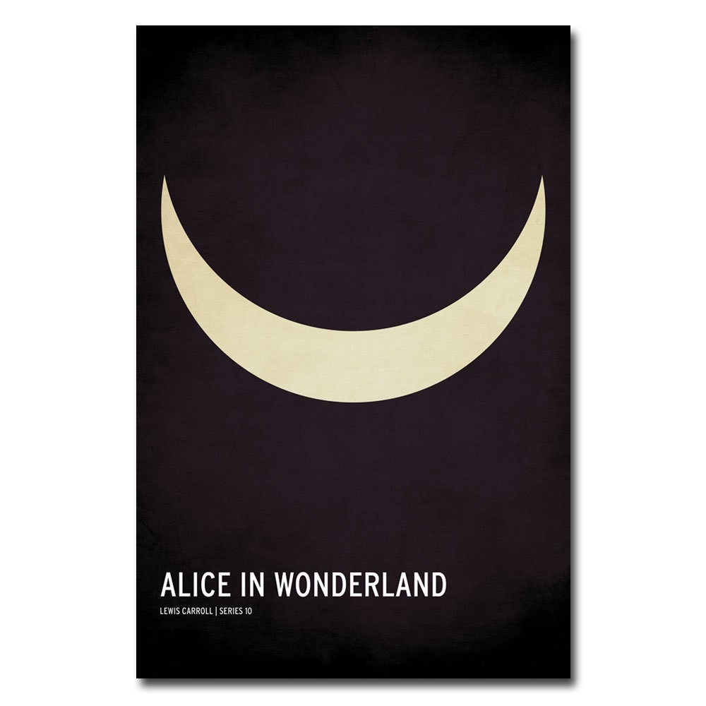 Image of 'Alice in Wonderland' by Christian Jackson Ready to Hang Canvas Wall Art
