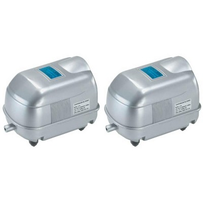 2 Pondmaster AP-20 Garden Pond Deep Water Air Pumps w/Diffuser - 1700 Cu. In/Min