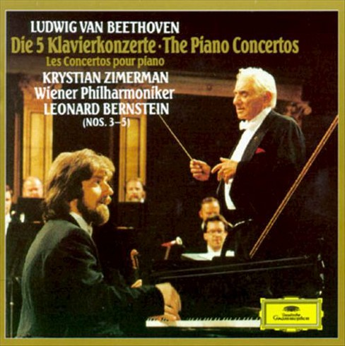 Zimerman & bernstein - Beethoven:Piano ctos. (CD) - image 1 of 1
