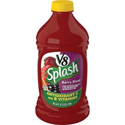 V8 Splash Berry Blend Juice - 64 fl oz Bottle