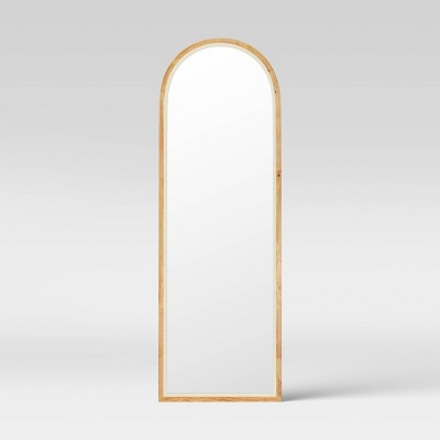 "20""x60"" Wood Wall Mirror - Opalhouse™"