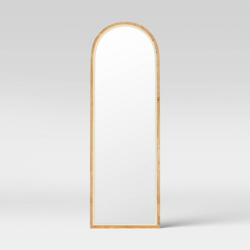 20 X60 Wood Wall Mirror Opalhouse, Carved Wood Mirror Target