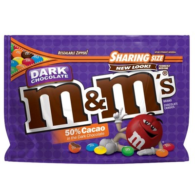 Chocolate Candies: M&M's Dark Chocolate