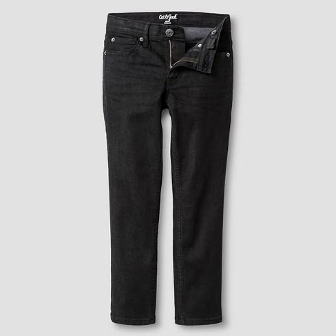 1550abcec Boys' Skinny Fit Jeans - Cat & Jack™ Black Wash 10 Husky. Shop all Cat &  Jack