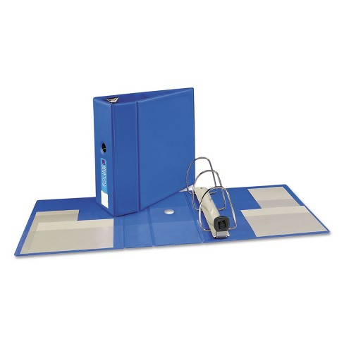 """Avery Heavy-Duty Binder with One Touch EZD Rings 11 x 8 1/2 5"""" Capacity Blue 79886 - image 1 of 4"""