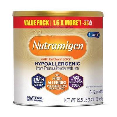 Enfamil Nutramigen with Enflora LGG Infant Hypoallergenic Formula Powder - 19.8oz