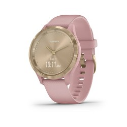 Garmin vivomove 3S Dust Rose with Light Gold Hardware