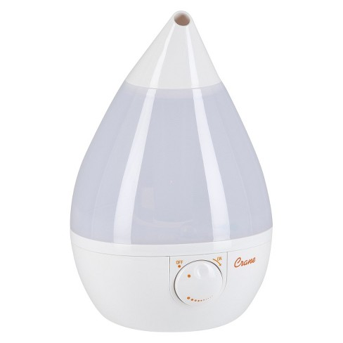 Crane Drop Ultrasonic Cool Mist Humidifier White Target