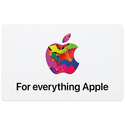 Apple Gift Card - App Store, iTunes, iPhone, iPad, AirPods, and accessories (Email Delivery)