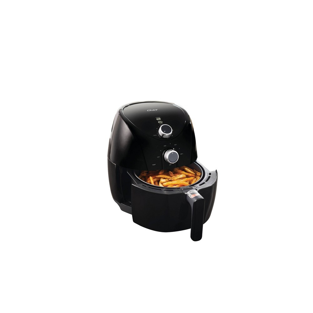 Oster Titanium-Infused DuraCeramic 3.3qt Air Fryer - Black