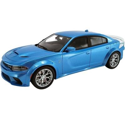 "2020 Dodge Charger SRT Hellcat Widebody B5 Blue Met. ""Daytona 50th Anniversary Edition"" 1/18 Model Car by GT Spirit for ACME"