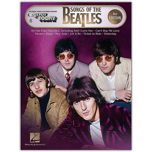 Hal Leonard Songs of the Beatles - 3rd Edition E-Z Play Today Series Songbook - image 1 of 1