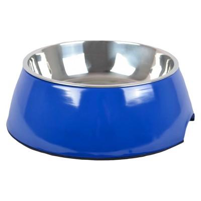 Melamine Cat and Dog Bowl - Athens Blue - Medium - Boots & Barkley™