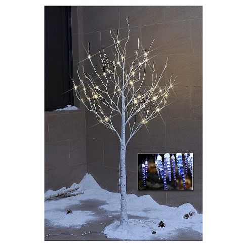 Lightshare 6' LED Birch Tree Decoration Light - Warm White Lights - image 1 of 8
