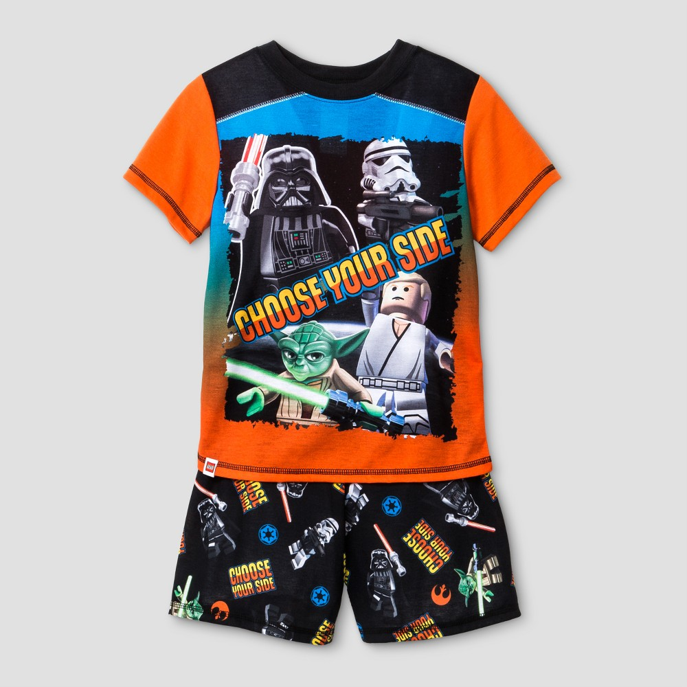 Boys' Lego Pajama Set - Black XS