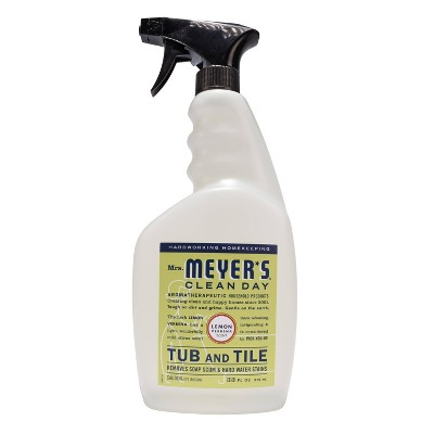 Mrs. Meyer's Lemon Verbena Tub and Tile Spray Cleaner - 33 fl oz