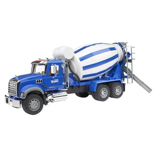 Mack Granite Cement Mixer Truck - Blue image number null