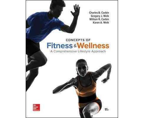 Concepts of Fitness & Wellness : A Comprehensive Lifestyle Approach (Paperback) (Charles B. Corbin) - image 1 of 1