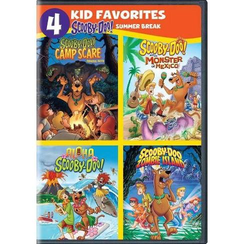 4 Kid Favorites: Scooby-doo Summer Break (DVD) - image 1 of 1